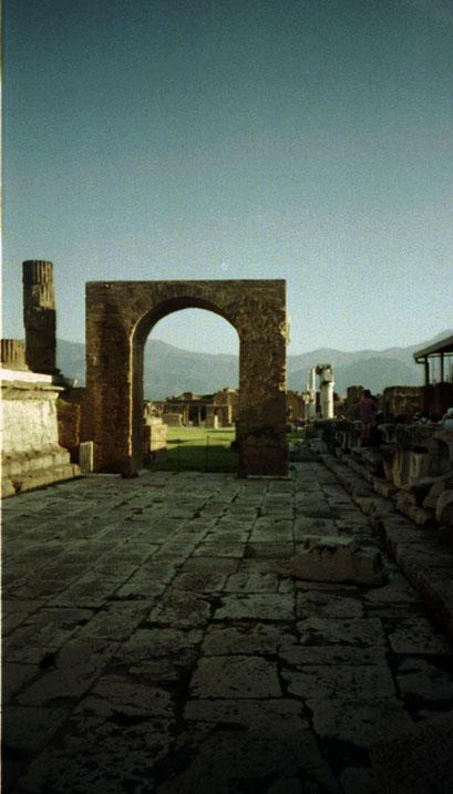 Le site archéologique de Pompéï