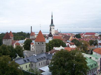 Panorama sur Tallinn
