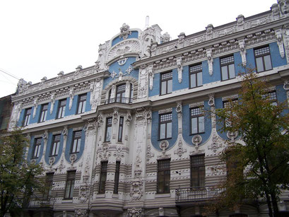Les maisons art déco de Riga