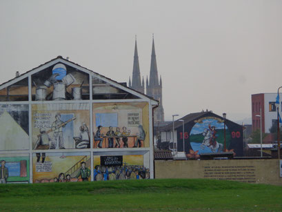Belfast, quartier Ouest