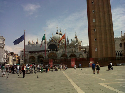Venise, la Place St Marc et sa Basilique