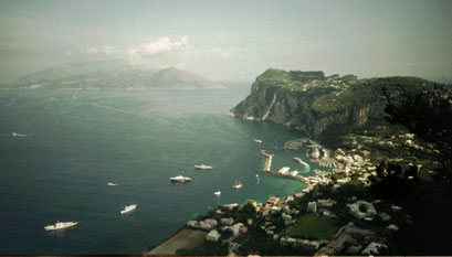 Vue de l'Ile de Capri