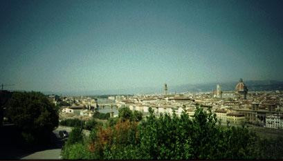 Panorama sur la ville de Florence