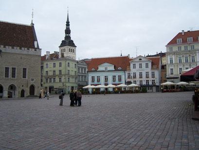 Place de la vieille ville à Tallinn