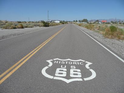 """La mythique route """"66"""""""