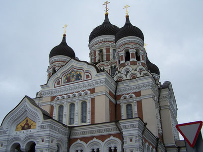L'église St Olaf à Tallinn