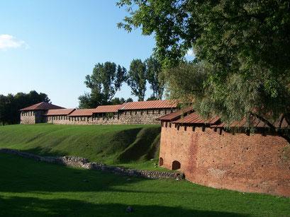 Le Château de Kaunas en Lituanie