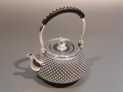 鉄瓶 銀瓶 買取ります 茶道具買います