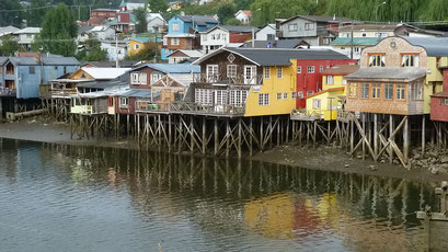 Castro - Palafitos, die Stelzenhäuse auf Chiloe