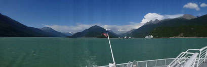 Überfahrt nach Haines, Alaska