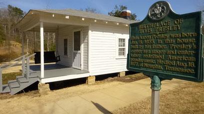 Elvis Zuhause als Kind - Tupelo