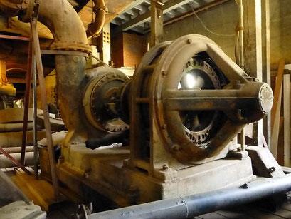 Elektromotoren - ganz ohne Gehäuse, Dredge Nr. 4, Dawson City, Kanada