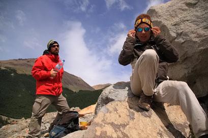 ...Wanderung mit Cloe und Bertrand