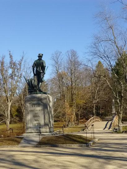 Concord, Minuteman Historical Park, Massachusetts