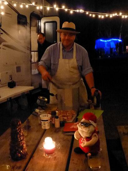 Weihnachtsessen - Collier-Seminole