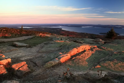 Sonnenaufgang Mount Cadillac, Acadia N.P., Maine