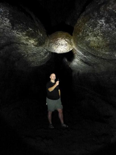 Höhle bei Mount Rainier