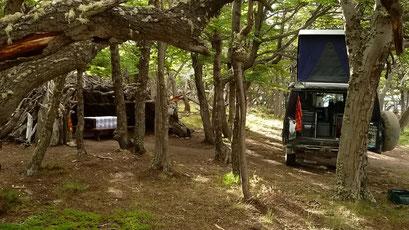 Camp am Lago Burmeister - Perito Moreno N.P.