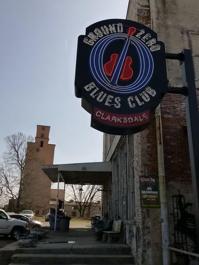 Ground Zero Blues Club von Morgan Freeman, Clarksdale