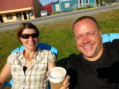Ein feiner Kaffee am Morgen, Haines, Alaska