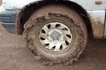 ... die etwas andere Methode seine Reifen zu Verbreitern