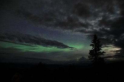 Nordlichter, Dawson City, Kanada