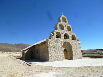 Kirche ausserhalb Potosi's