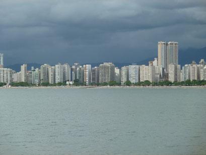 Skyline von Santos