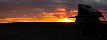 Südlich des Cabo Tombo N.P. - Wild campieren direkt am Strand