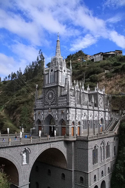 Die Basilika von Las Lajas