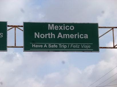 Jetzt sind wir offiziell in Nordamerika angekommen