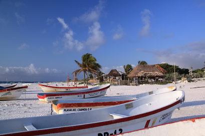Tulum, ein paradisischer Strand...