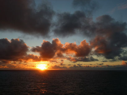 ... und wieder ein wunderschöner Sonnenuntergang