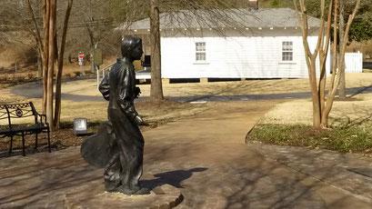 Statue des Teenager Elvis - Tupelo