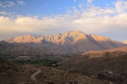 Fahrt ins Valle d'Elqui
