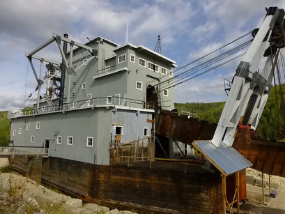 Dredge Nr. 4, Dawson City, Kanada