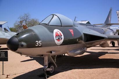 PIMA Air & Space Museum, Tucson, Arizona, mit Schweizer Beteiligung...!