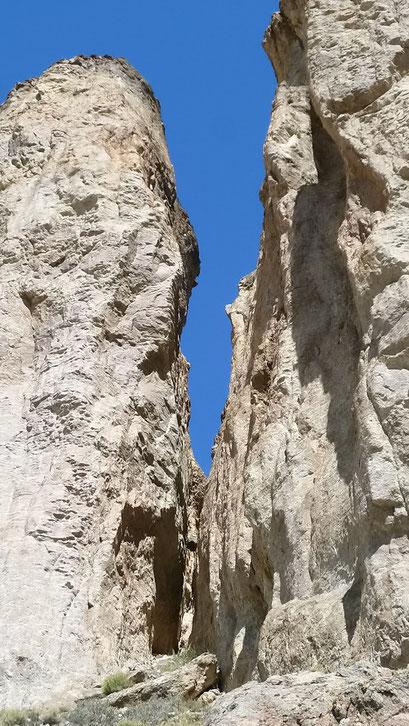 Tal der Cueva de los Manos