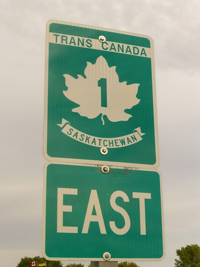 Auf dem Trans-Canada-Highway