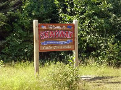 Willkommen in Skagway, Alaska