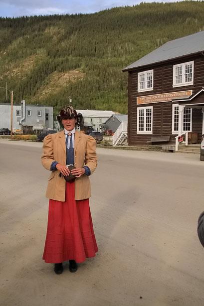 Stadtführung in Dawson City, Kanada