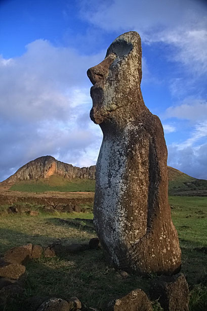 Moai von Ahu Tongariki
