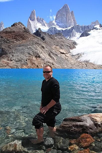 kalte Füsse am Lago de los Tres