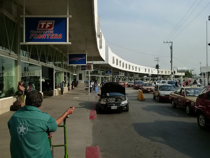 Einer der Busbahnhöfe
