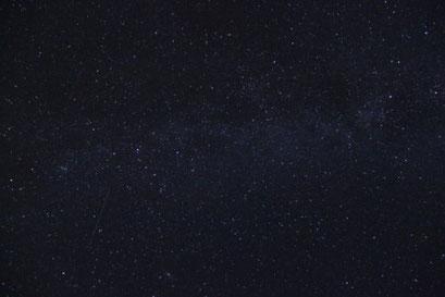 Milchstrasse mit Sternschnuppe
