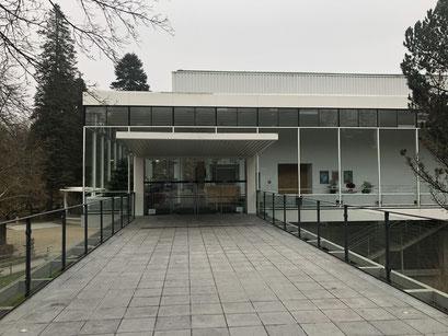 Konzerthalle Bad Orb - Eingang