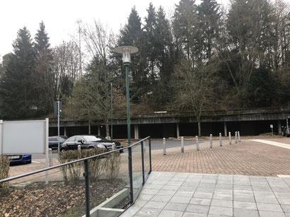 Konzerthalle Bad Orb - Ausgang