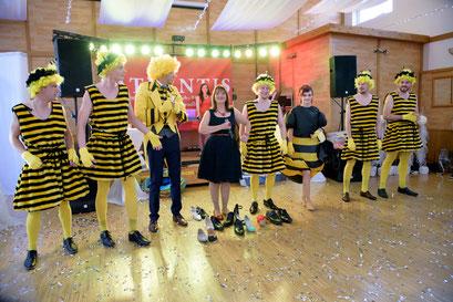 Kostüme & Show auf der russischen Hochzeit in Nürnberg