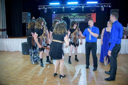 Show Band & Musicband auf russischen Hochzeit
