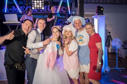 Musikband, Hochzeitsband, Musikgruppe & Tamada für Hochzeit